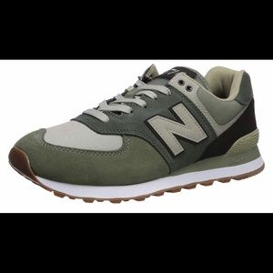 New Balance Men's 574 V2 Military Sneakers Size 18